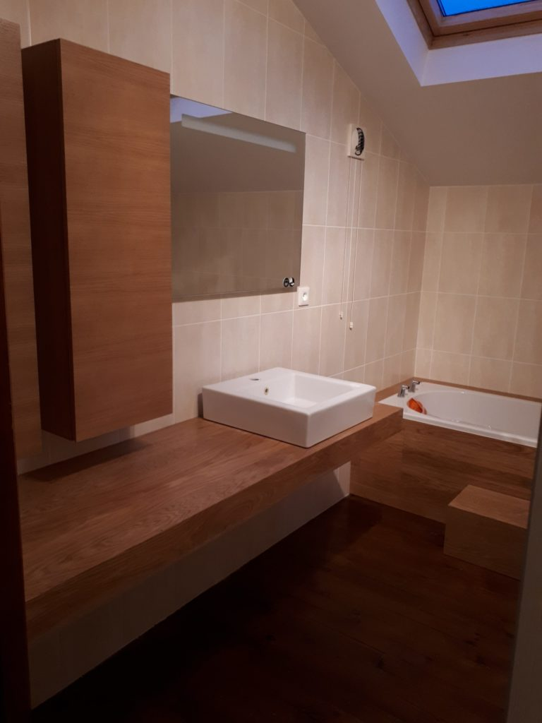 Réfection salle de bain