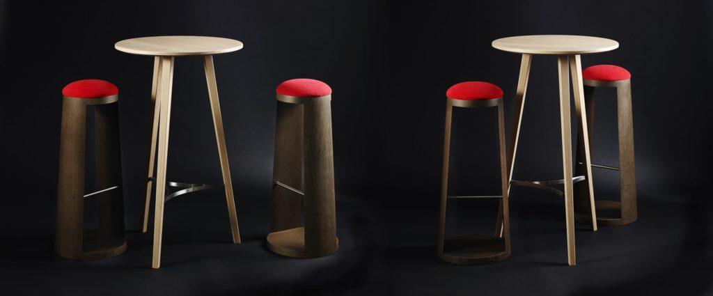 Ensemble tables hautes
