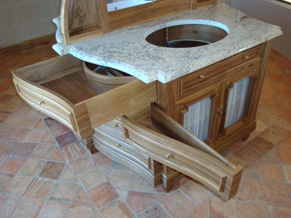 Création meuble salle de bain