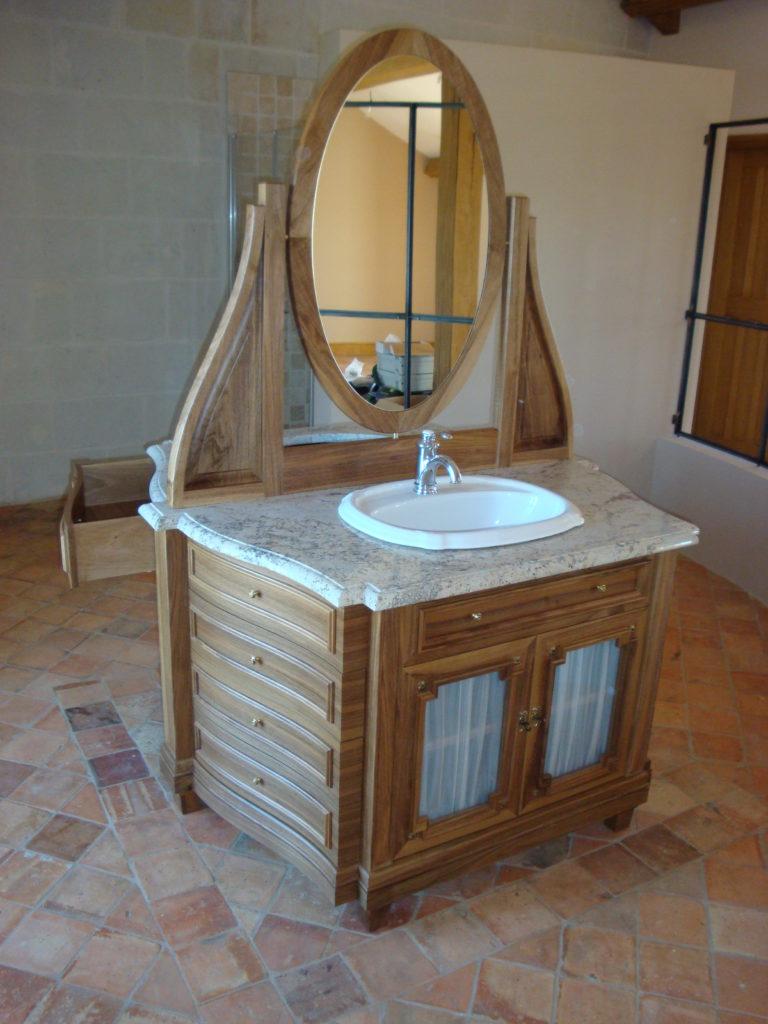 Création meuble de salle de bain